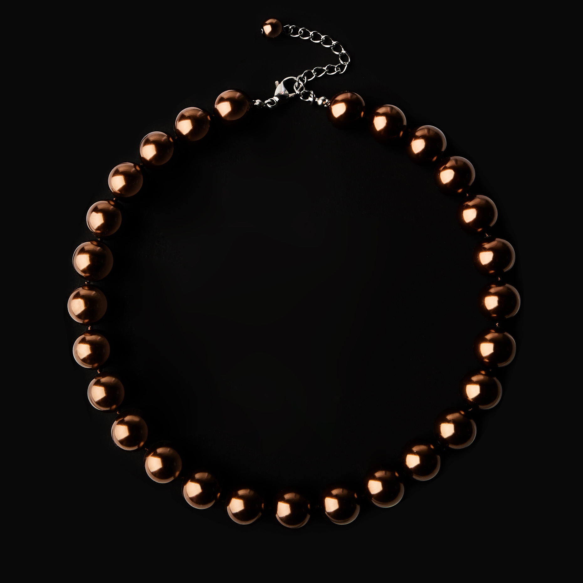 CopperBeadNecklace